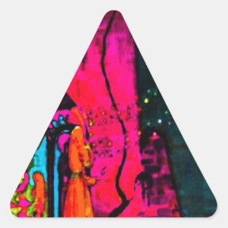 SPINDEROK - Cuentos de hadas Pegatina Triangular