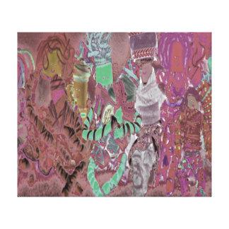 Spinderok Dolls Canvas Print