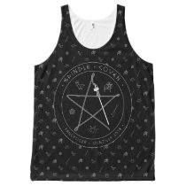 Spindle Coven All-Over Unisex Tank
