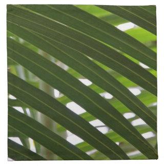 Spindle Palm Cloth Napkins