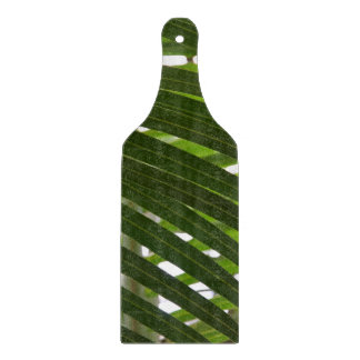 Spindle Palm Glass Cutting Board Paddle