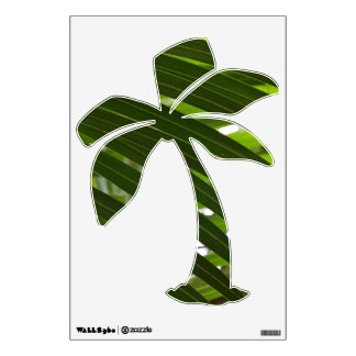 Spindle Palm Wall Decal