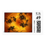 Spindle Postage Stamp