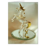 Spindly Glass Greeting Card