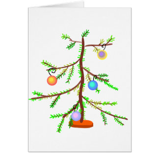 Spindly Tree Card