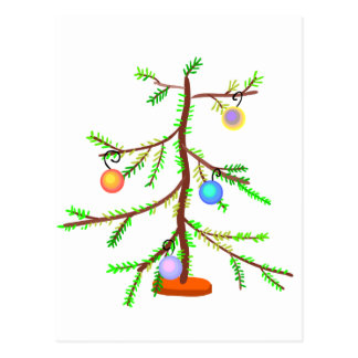 Spindly Tree Postcard