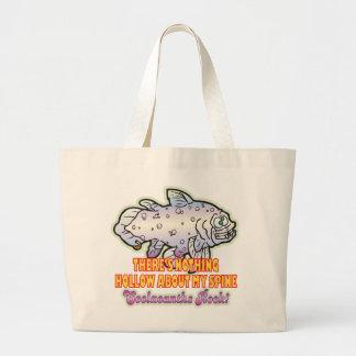 Spine Coelacanth Canvas Bag