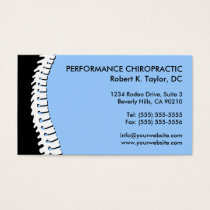 Chiropractic business cards chiropractic by design spine cutout chiropractic business cards colourmoves