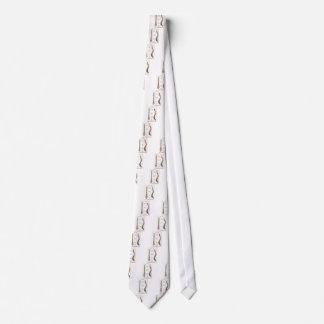 Spine Details Sepia2 Neck Tie