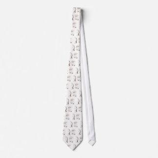 Spine Details Sepia Tie