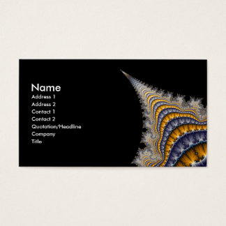 Spine_fractal Business Card