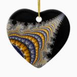 Spine_fractal Ceramic Ornament