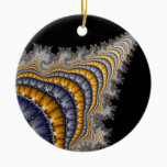 Spine_fractal Ceramic Ornament