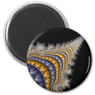 Spine_fractal Fridge Magnets