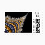 Spine_fractal Postage