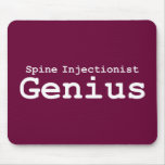 Spine Injectionist Genius Gifts Mouse Mat