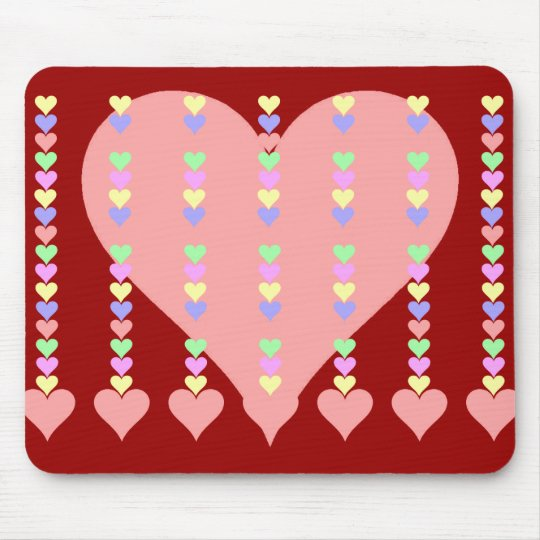 Spine of Hearts Gifts and Apparel Mouse Pad