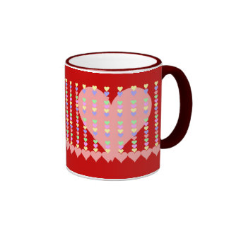 Spine of Hearts Gifts and Apparel Ringer Mug