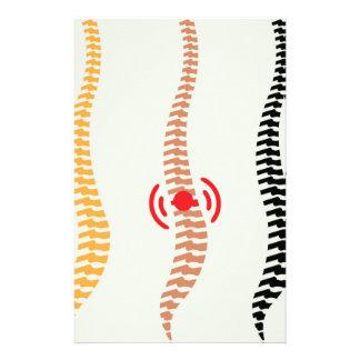 Spine Stationery