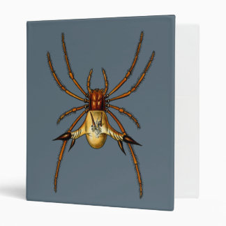 Spined Spider 3 Ring Binder