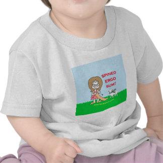 spineo ergo sum lambspun shirt