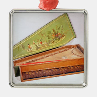 Spinet, 1746 christmas ornaments