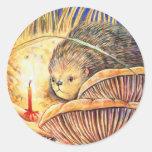 Spinewise por Mothlight Etiquetas Redondas