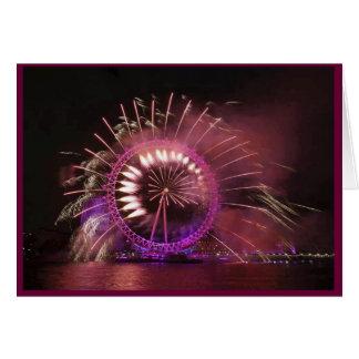 Spining Purple Card