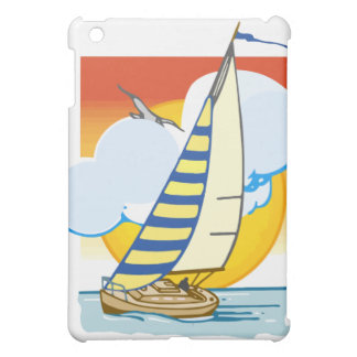 Spinnaker in the Sunset Case For The iPad Mini