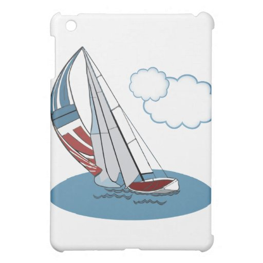 Spinnaker in the Wind iPad Mini Covers