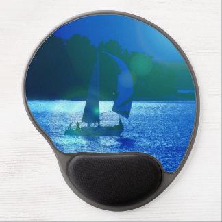 Spinnaker Racing Sailboat Gel Mouse Pad