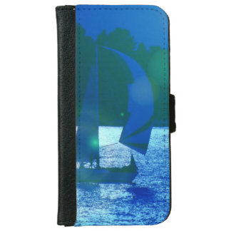 Spinnaker Racing Sailboat iPhone 6 Wallet Case