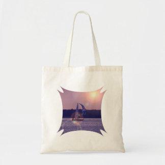 Spinnaker Sailboat Budget Tote Bag
