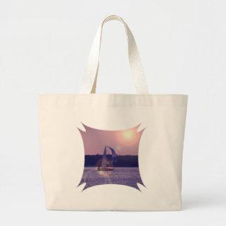 Spinnaker Sailboat Canvas Bag