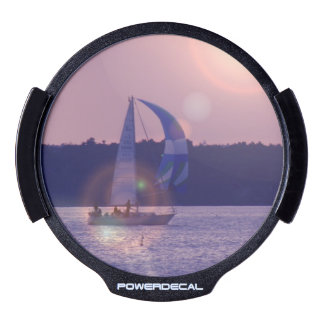 Spinnaker Sailboat LED Window Decal