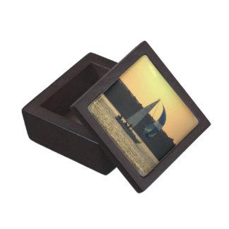 Spinnaker Sailboat Sunset Premium Gift Box