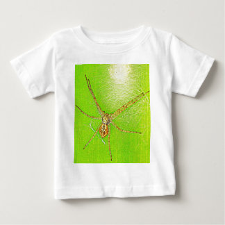 Spinne auf Blatt T-shirts