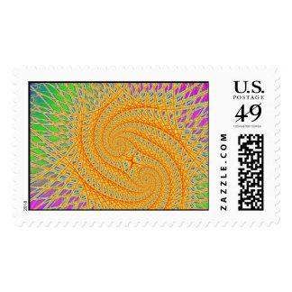 Spinnennetz Postage Stamp