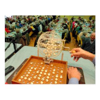 Spinner at Bingo Hall Postcard