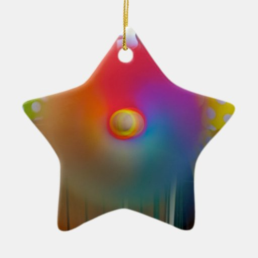 Spinner Double Sided Star Ceramic Christmas Ornament Zazzle