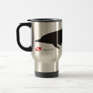 Spinner Dolphins - Travel Mug