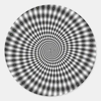 Spinner Swirl Classic Round Sticker