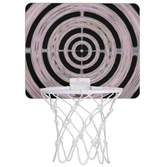 Spinning Bullseye Pattern Mini Basketball Backboard  fcf98ac2a8