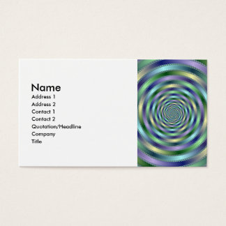 Spinning Business Card