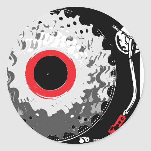 Spinning Cogs Stickers