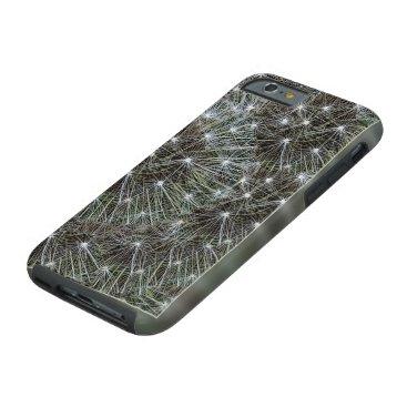 Spinning dandelion puff tough iPhone 6 case