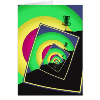 Spinning Disc Golf Baskets 5 Card