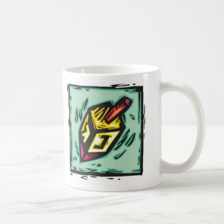 Spinning Dreidel Mug! Coffee Mug