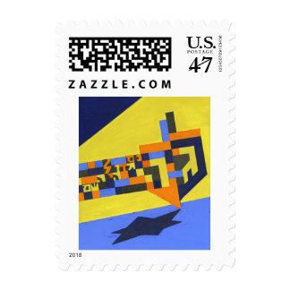 Spinning Dreidel Postage