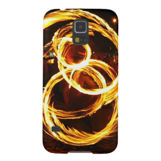 Spinning Fire - Abstract Galaxy S5 Case